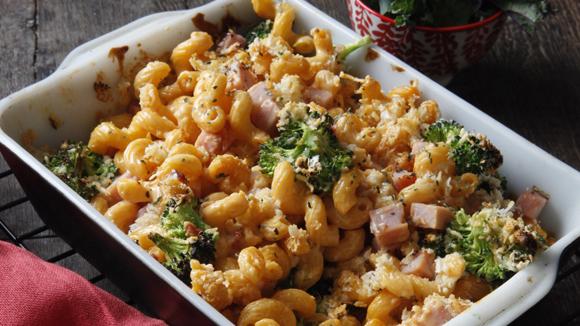 Cheddar Broccoli Pasta Bake Kain Klab