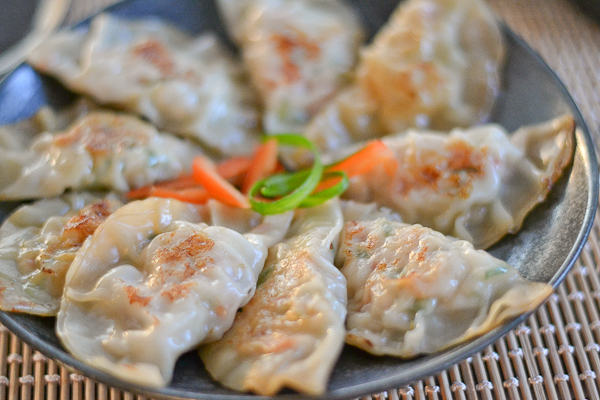 Chicken Pot Stickers (Dumplings) | Kain Klab