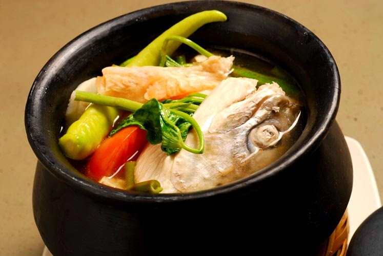 how to cook salmon sinigang