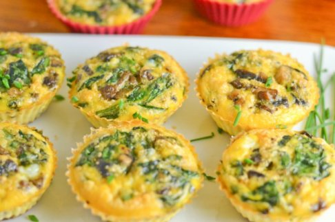Bacon-Mushrooms-and-Spinach-Muffins-1